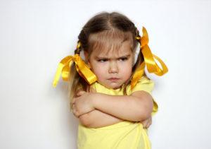 kako se spopasti z otrokovo trmo