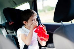 morska bolezen pri otrocih