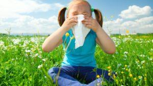 alergije na cvetni prah pri otrocih