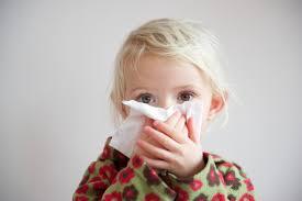 prehlad pri otrocih